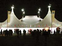 the Grand Chapiteau Cirque du Soleil Amsterdam