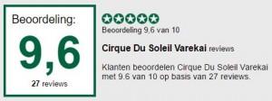 review Cirque du Soleil Varekai Amsterdam, Nederland